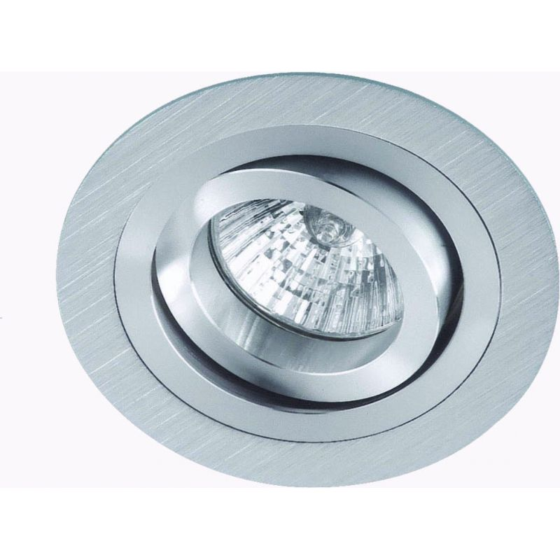 Empotrable Redondo Aluminio