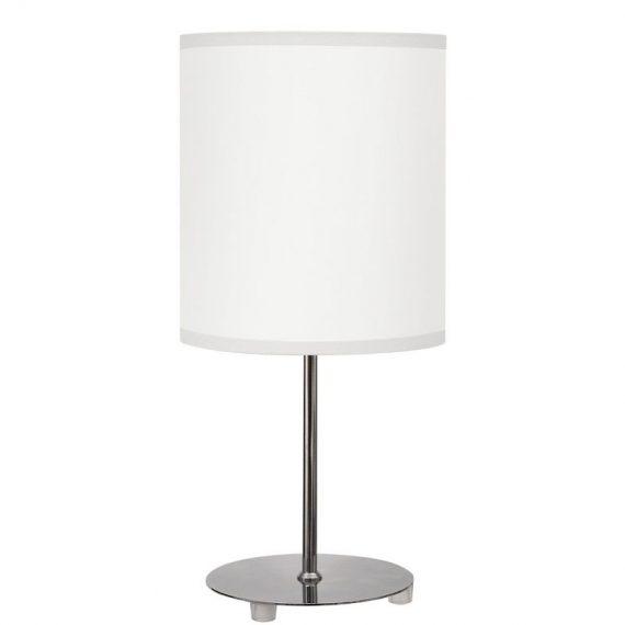 Lámpara sobremesa color blanco