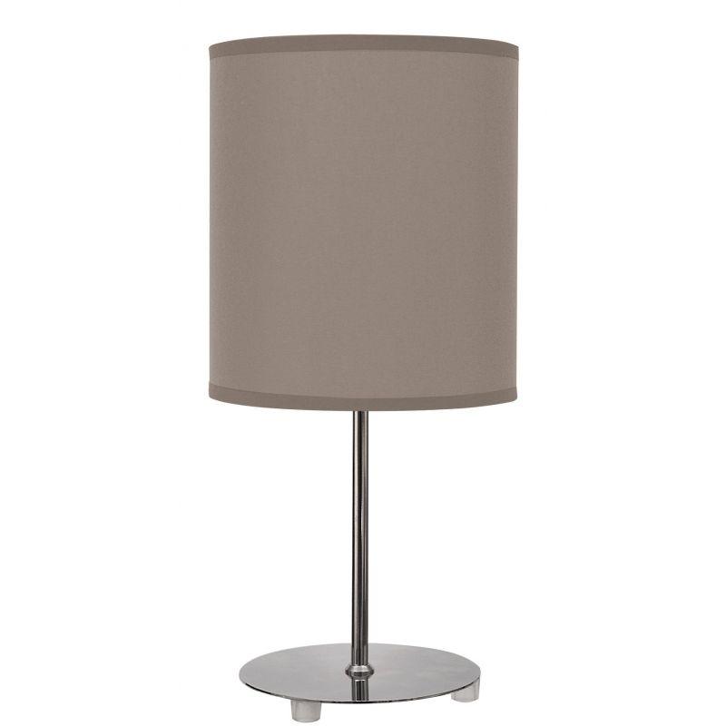 Lámpara sobremesa color marrón topo
