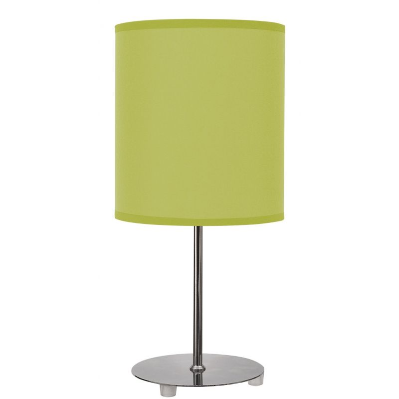 Lámpara sobremesa verde pistacho