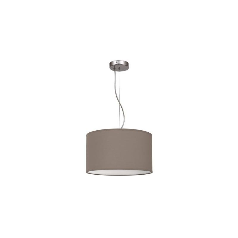 Lámpara colgante regulable marrón topo 30
