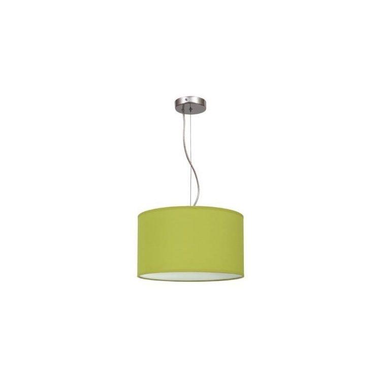 Lámpara colgante regulable verde pistacho 30
