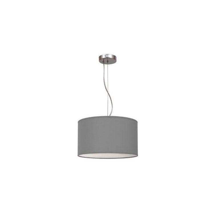 Lámpara colgante regulable gris 30