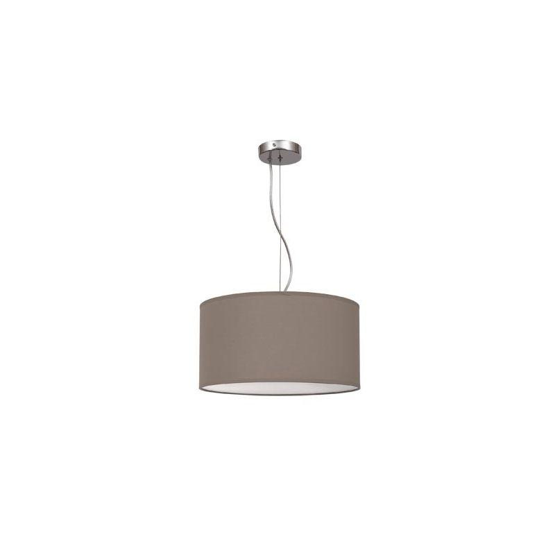 Lámpara colgante regulable marrón topo 40