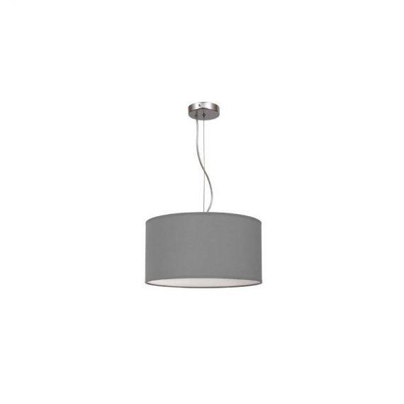 Lámpara colgante regulable gris 40