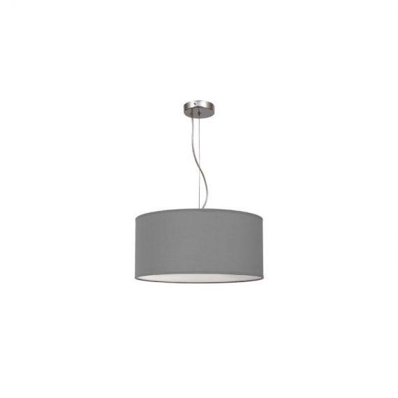 Lámpara colgante regulable gris 50