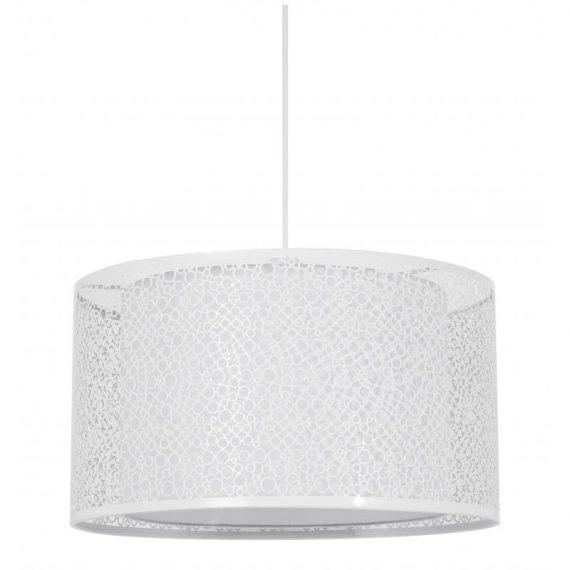 Lámpara colgante círculos blanco