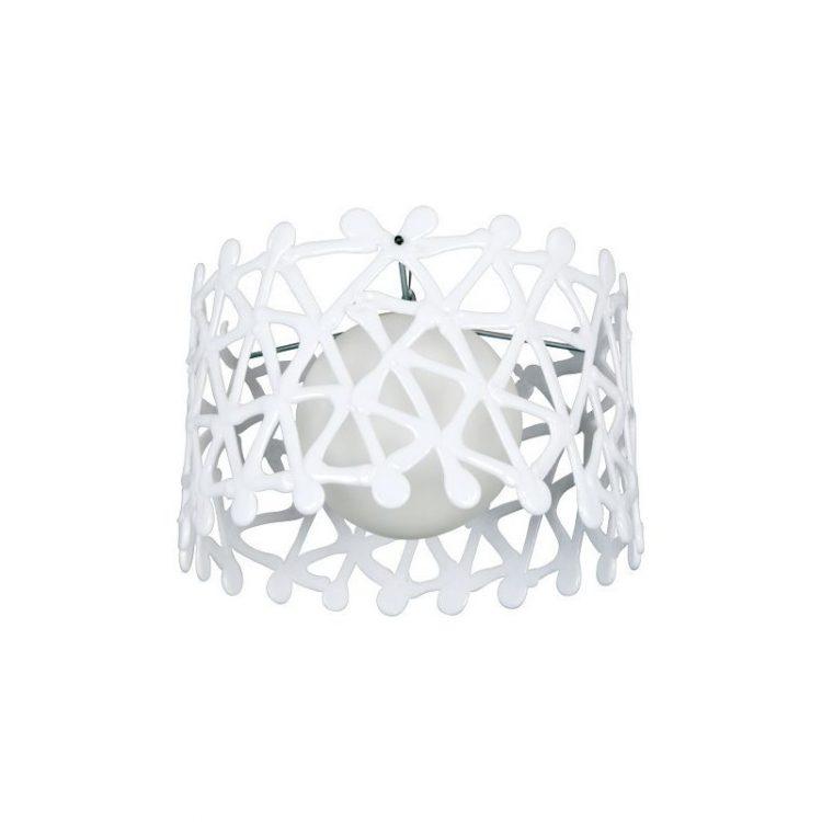 Lámpara colgante 40 blanco