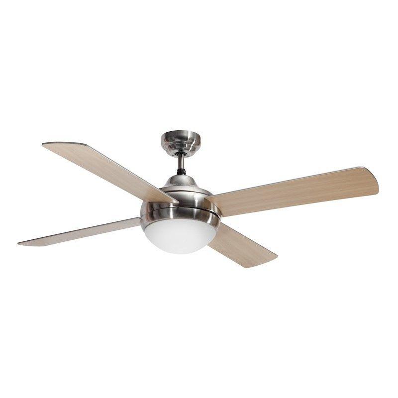 Ventilador 4 aspas níquel