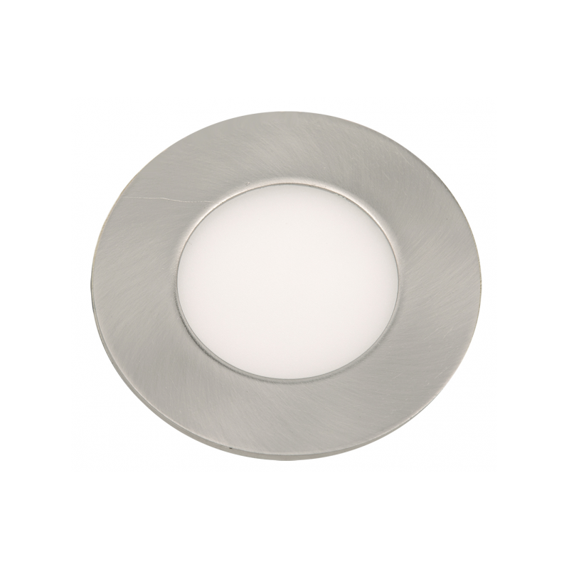 Downlight LED Redondo Niquel Satinado 6W 4500K