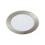 Downlight LED Redondo Níquel Satinado 12W 4500K