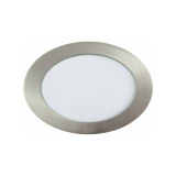 Downlight LED Redondo Níquel Satinado 12W 4500K
