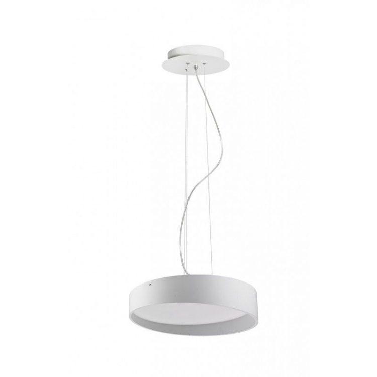 Colgante LED Circular Blanco