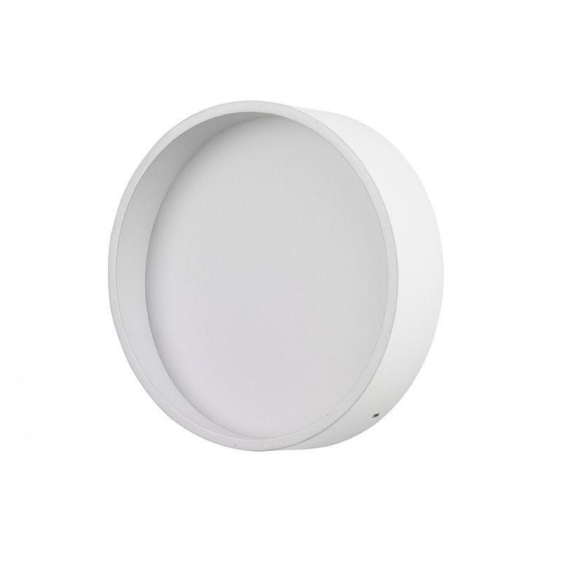 Aplique LED circular blanco