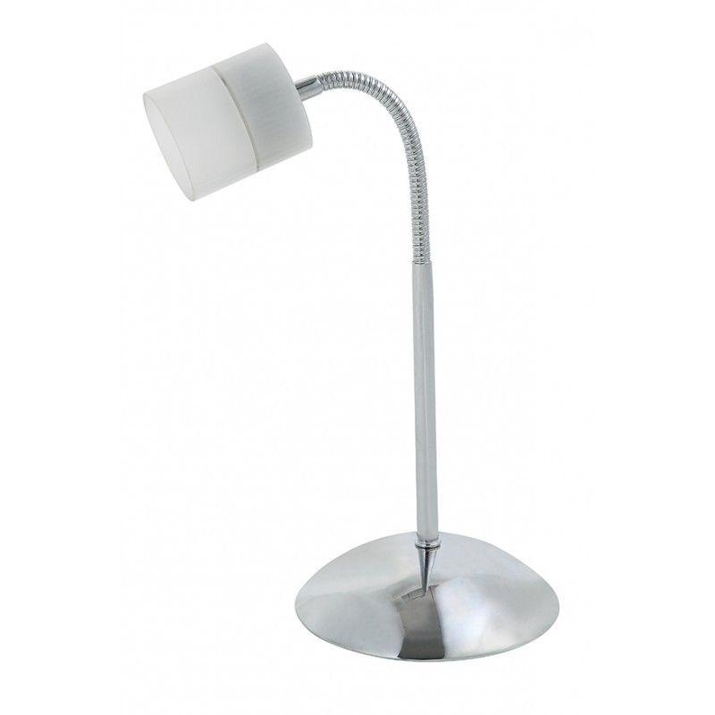 Sobremesa LED 1 luz níquel