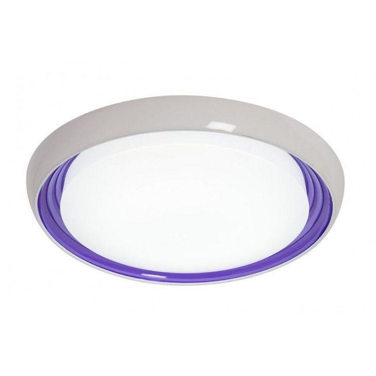 Plafón LED Dimmable Morado