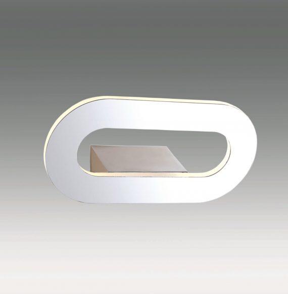 APLIQUE SOLARIS CROMO+ACRILICO 7W LED 4000K