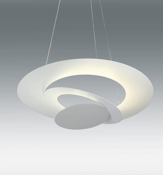 LAMPARA COLGANTE BLANCA 36W LED 4000K
