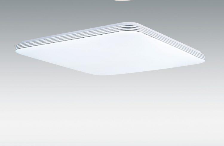 PLAFON BLANCO BORDE PLATA 45W LED CCT VARIABLE