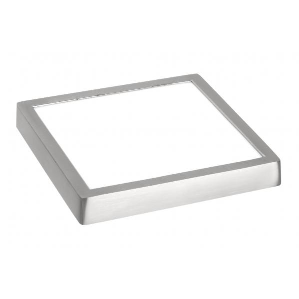 downlight 18w 4000k sup extra fino cromo 1440lm 17 x17x2 5 amuleto - Todolampara - Plafón Superficie LED
