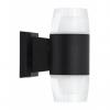 aplique exterior 18w 4000k jamaica negro 1440lm ip65 21x15x9 2 luces 1 - Todolampara - Lámpara Aplique Exterior Jamaica