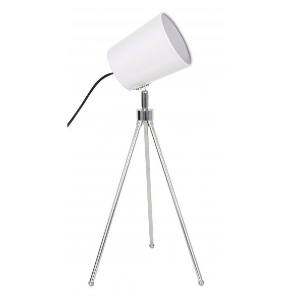 flexo meliades 1xe27 blanco - Todolampara - Lámpara de Mesa Meliades Blanco
