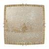 plafon cuadrado carbono ambar 2xe27 30x30 - Todolampara - Lámpara Plafón Cuadrado Carbono Ambar 30x30 cm