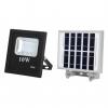 proyector solar 10w 6500k oraculo negro 12 5x11 5x4 24x18x2 5 - Todolampara - Proyector led 10w con panel solar Oráculo