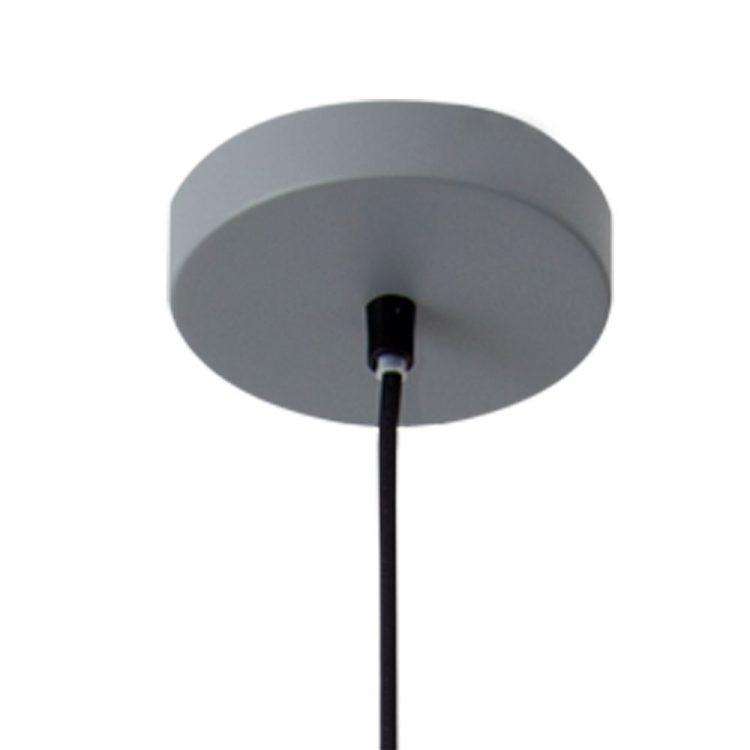 lampara getting colgante gris soporte