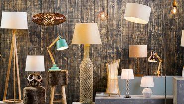 Aprovecha las lámparas para ambientar una reunión