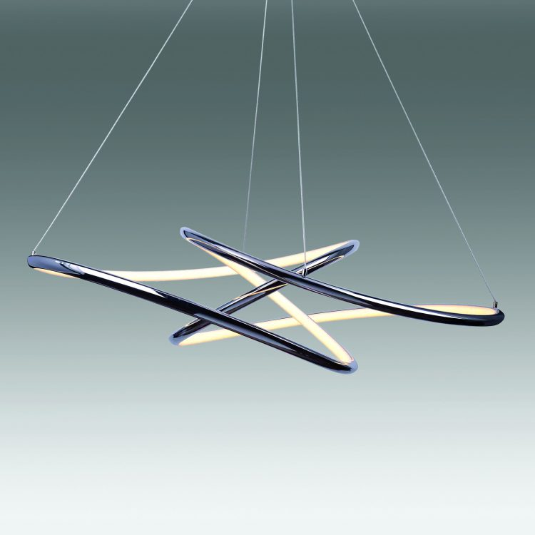 Equilibrium Colgante LED C17975 62C - Todolampara - LÁMPARA COLGANTE CROMO LED EQUILIBRIUM