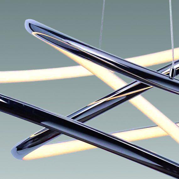 Equilibrium Colgante LED C17975 62C Detalle - Todolampara - LÁMPARA COLGANTE CROMO LED EQUILIBRIUM