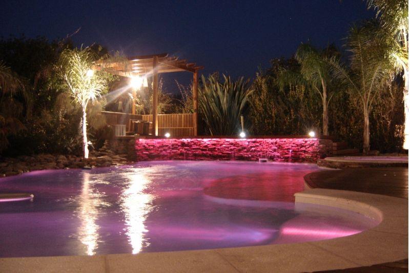 como ambientar una piscina con lamparas 2 - Todolampara - Como ambientar una piscina con lámparas