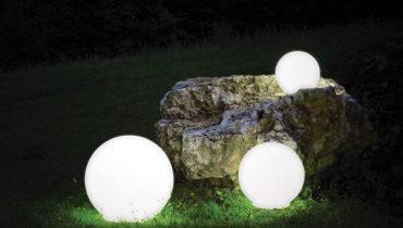 Tipos de lámparas del jardín