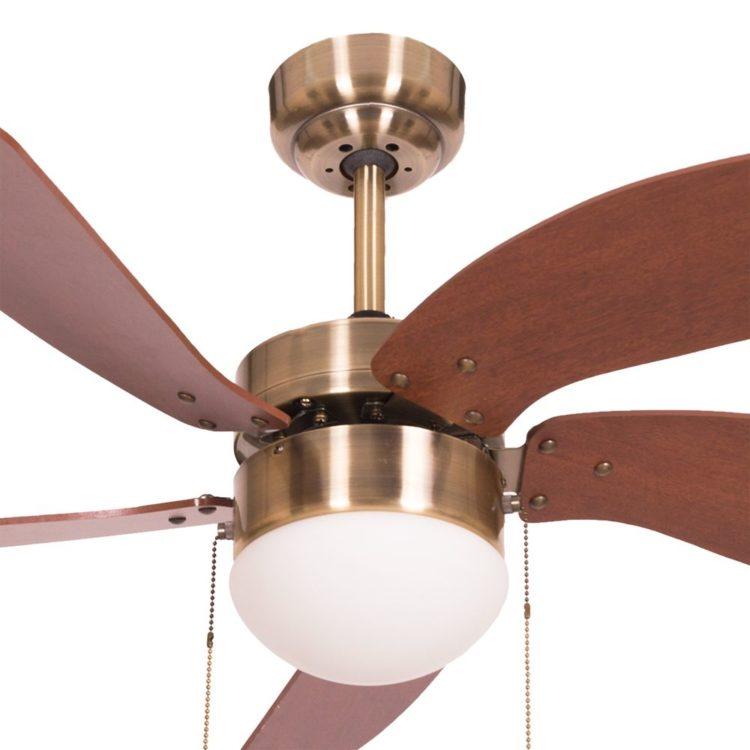 detalle ventilador cibeles cuero