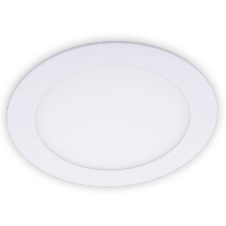 downlight empotrable led redondo blanco leonidas