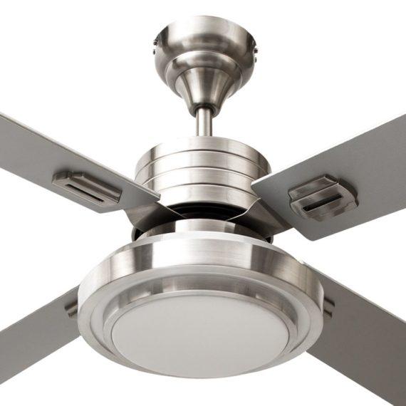 detalle difusor de luz de ventilador troya