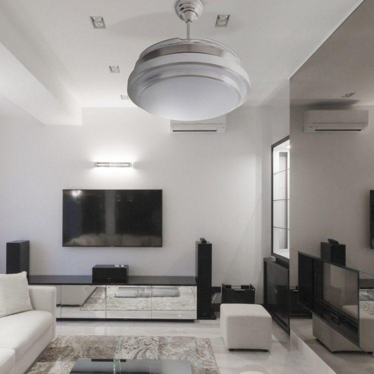 ejemplo de ventilador selene en salon