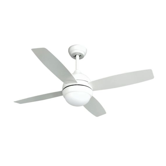 ventilador techo kinder blanco led