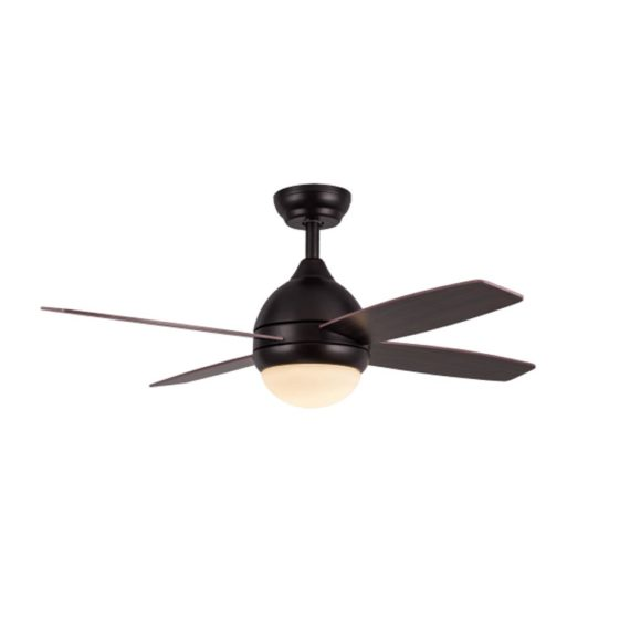 ventilador kinder marron con luz led
