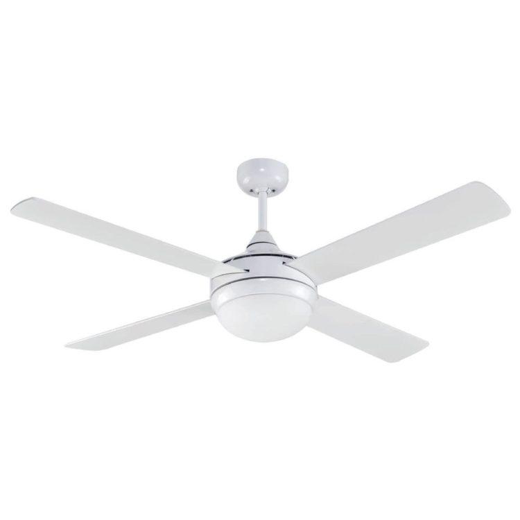 ventilador de techo con luz modelo millar color blanco