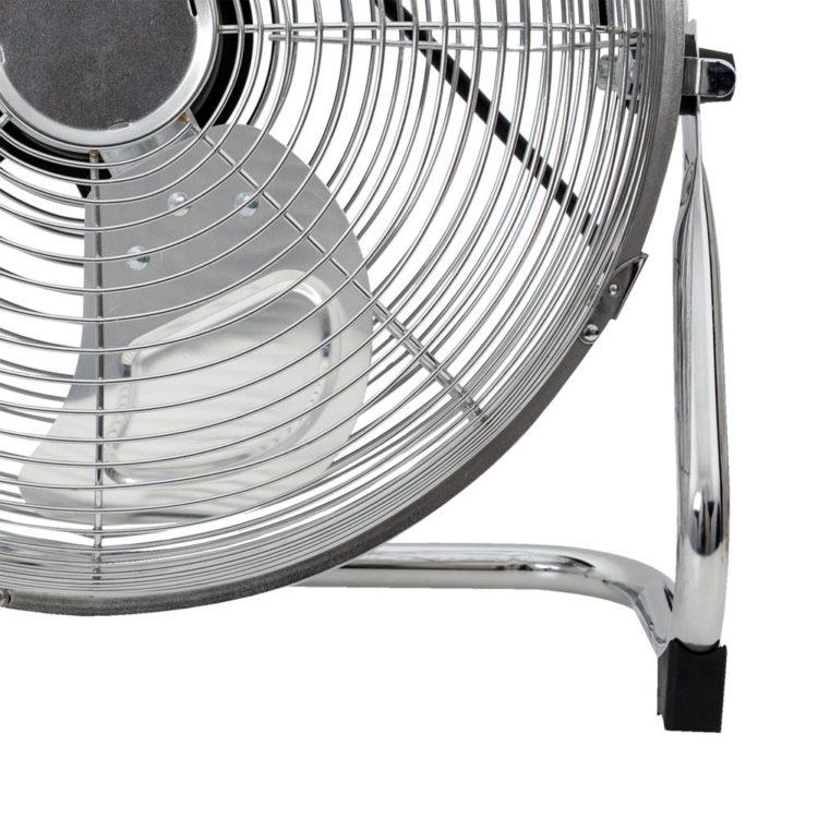 detalle ventilador industrial metalico