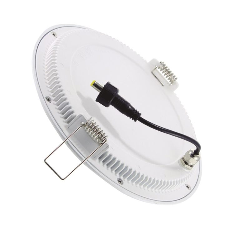 downlight led redondo blanco extraplano ip65 exterior