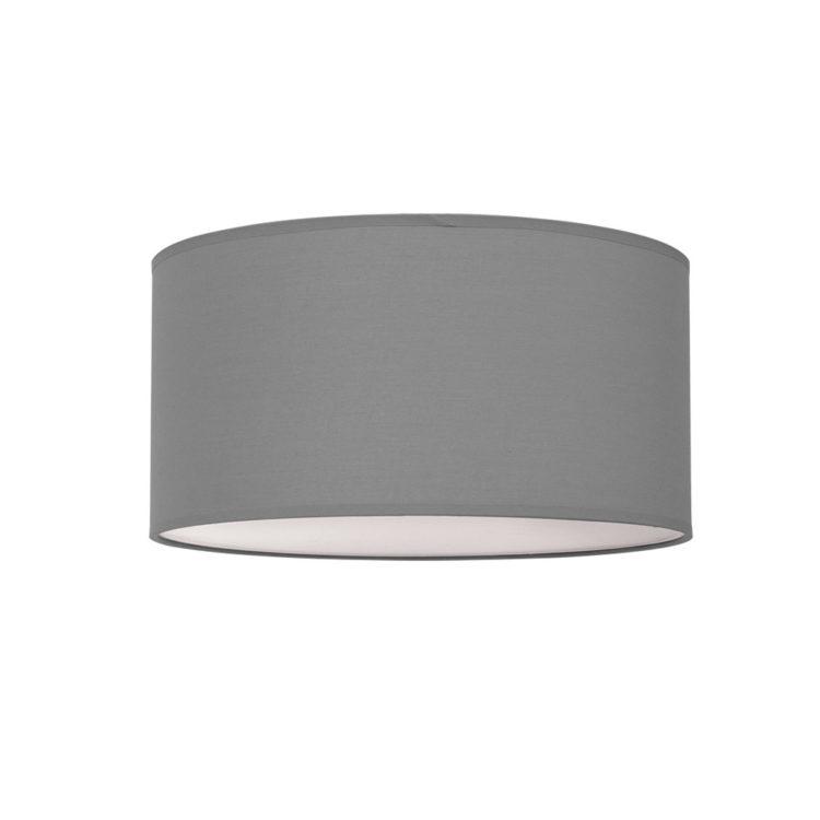 plafon de tela en gris