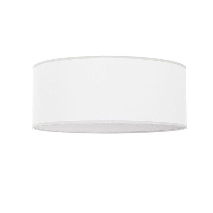 plafon de 50 cm blanco de tela