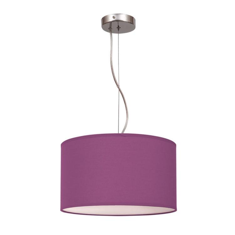 lampara violeta nicole morado o lila