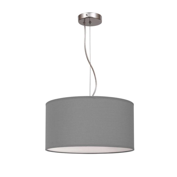 nicole color gris lampara colgante