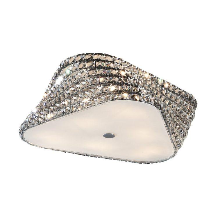 lampara plafon elis cristales