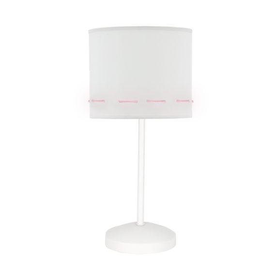 lampara de mesita rosa bebe claro