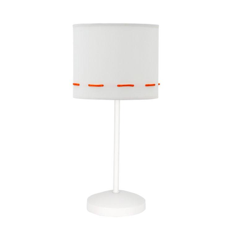 lampara de mesa naranja